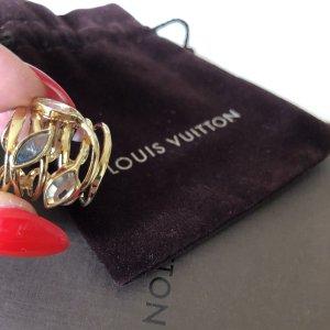 Louis Vuitton Złoty pierścionek złoto Metal