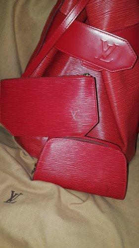 Louis Vuitton Sac D'Épaule Epi Leder Vintage Tasche & Pouch