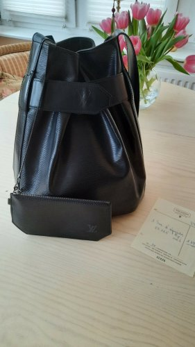 Louis Vuitton Sac d' epaule schwarz Epileder Vintage