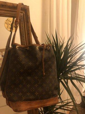 Louis Vuitton Sac seau cognac-brun foncé