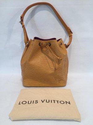 Louis Vuitton Sac Noé Petit Epi Gelb Beuteltasche