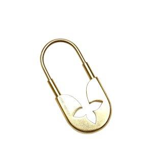 Louis Vuitton Étui porte-clés doré métal