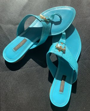 Louis Vuitton Sandalo toe-post turchese