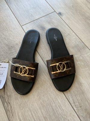 Louis Vuitton Sandalen Pantoletten 41