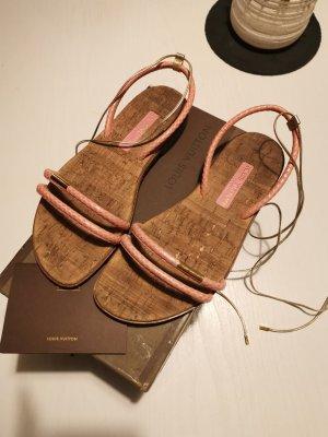 Louis Vuitton Sandalen ros'e