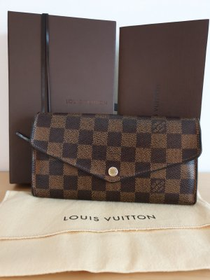 Louis Vuitton Sarah Geldbörse Damier Ebene Canvas