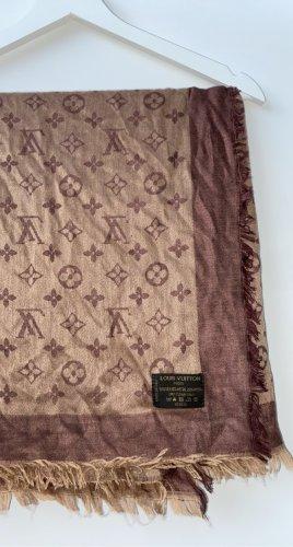 Louis Vuitton Silk Scarf light brown