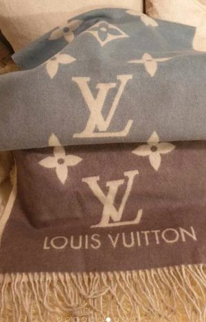 Louis Vuitton Écharpe en cachemire multicolore