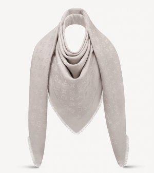 Louis Vuitton Schal / Tuch Greige neuwertig