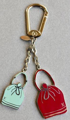Louis Vuitton Schlüsselanhänger Taschenanhänger Charm 2x Geldsack