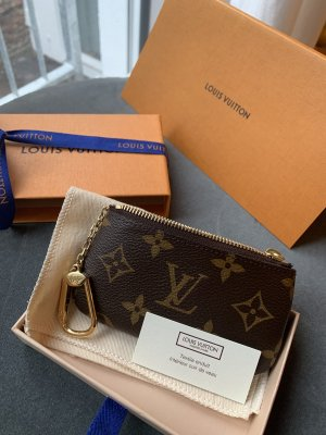 Louis Vuitton Card Case brown-black brown