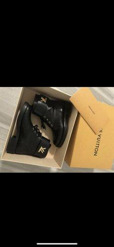 Louis Vuitton Short Boots black