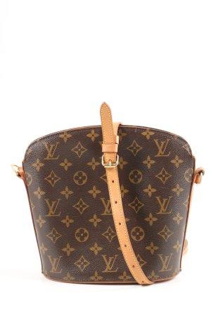 Louis Vuitton Schultertasche Allover-Druck Elegant