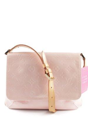 Louis Vuitton Schultertasche pink Schriftzug gedruckt Casual-Look