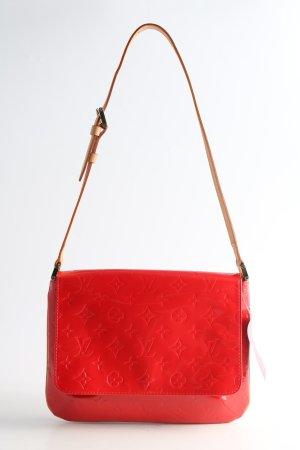 Louis Vuitton Schultertasche rot Schriftzug gedruckt Casual-Look