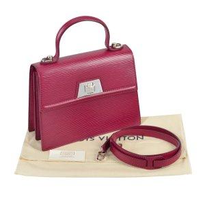 Louis Vuitton Sevigne Epi Leder Handtasche Fuchsia @mylovelyboutique.com
