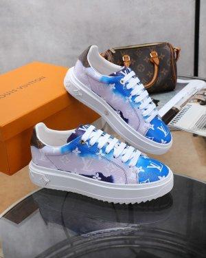 Louis Vuitton High Top Sneaker blue