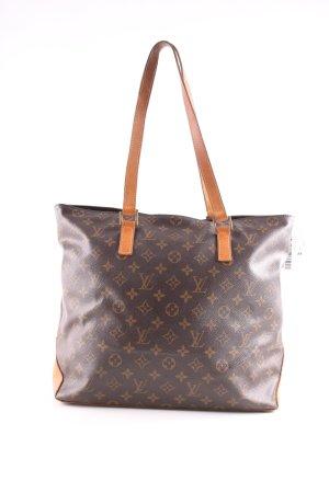Louis Vuitton Shopper braun-hellorange Allover-Druck Business-Look