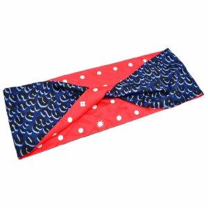 Louis Vuitton Sciarpa lavorata a maglia blu Seta
