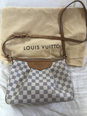 Louis Vuitton Borsetta bianco-blu