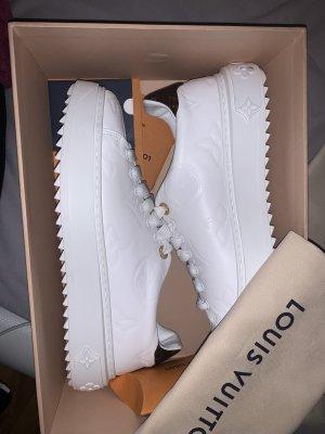 Louis Vuitton Lace-Up Sneaker white