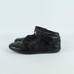 LOUIS VUITTON Sneaker Turnschuhe Gr. 36,5 schwarz Leder (19/12/273*)