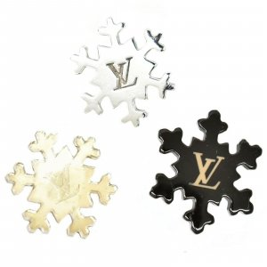 Louis Vuitton Snowflake Pin Brooch