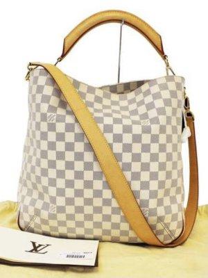 Louis Vuitton Sac porté épaule beige clair-gris clair