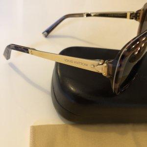 Louis Vuitton Hoekige zonnebril veelkleurig