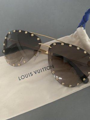 Louis Vuitton Gafas de piloto color oro-marrón claro metal