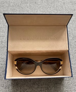 Louis Vuitton Butterfly Glasses brown-gold-colored
