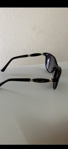 Louis Vuitton Oval Sunglasses black-gold-colored