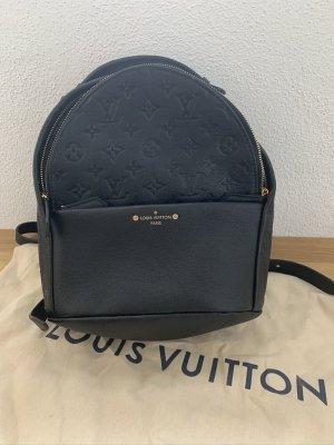 Louis Vuitton Laptop rugzak zwart-goud Leer