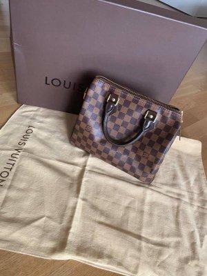 Louis Vuitton Torba typu bowling brązowy-cognac Tkanina z mieszanych włókien