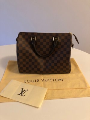 Louis Vuitton Speedy 30 Damier Ebene Canvas