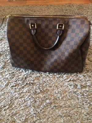 Louis Vuitton Speedy 30 Damier Handtasche in Beigebraun