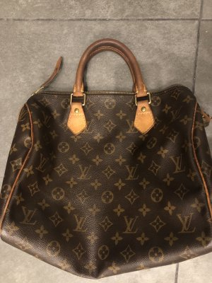 Louis Vuitton Speedy 30 Monogram Tasche canvas schloss