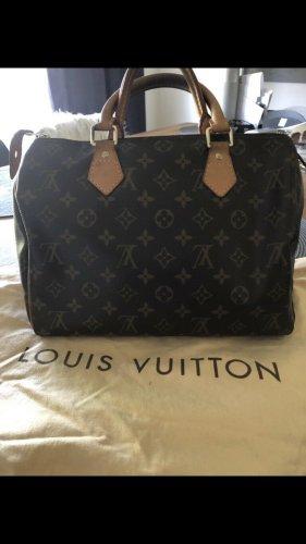 Louis Vuitton Sac bowling brun-brun foncé