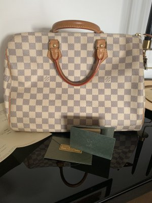 Louis Vuitton - speedy 35 - Damier Azur