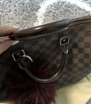Louis Vuitton Draagtas zwart bruin-bruin