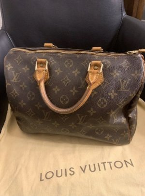 Louis Vuitton Sac Baril marron clair-brun noir