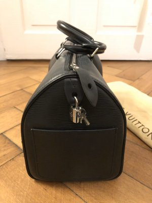 Louis Vuitton Speedy 35 Epi Leder Schwarz