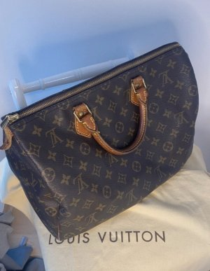 Louis Vuitton Borsa da bowling marrone-nero