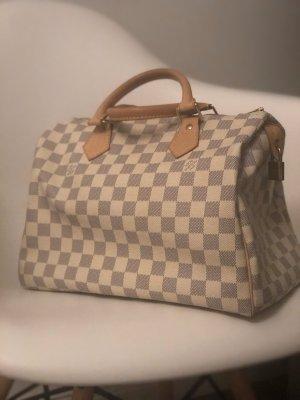 Louis Vuitton Bolso gris claro-blanco