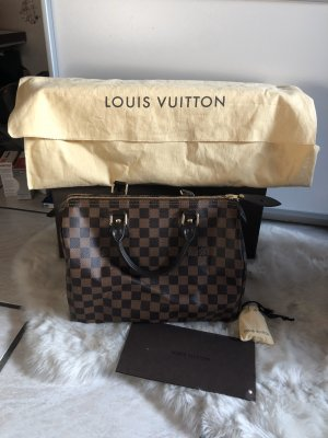 Louis Vuitton Handtas bruin-donkerbruin