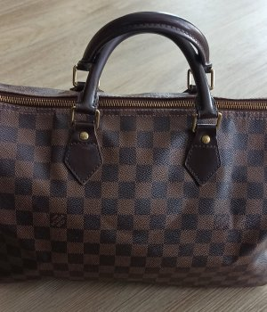 Louis Vuitton Carry Bag black brown-grey brown mixture fibre