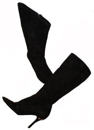 Louis Vuitton Heel Boots black