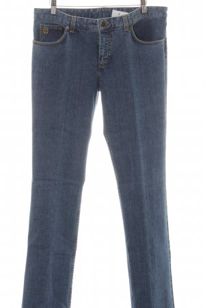 Louis Vuitton Straight-Leg Jeans stahlblau Casual-Look