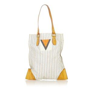 Louis Vuitton Torebka typu tote biały Bawełna