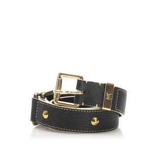 Louis Vuitton Studded Suhali Belt